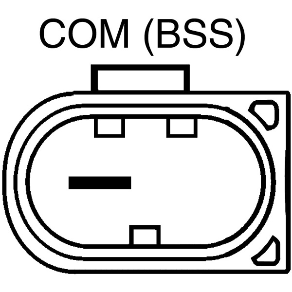 1 pin BMW  - COM BSS